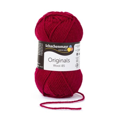 Fire Lana Wool85 - Burgundy 00232