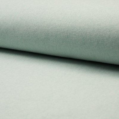 Fleece din bumbac Organic - Mint Melange