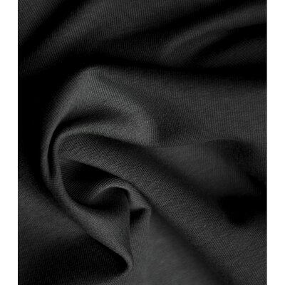 Jerse bumbac organic - Deep Black