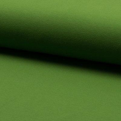 Jerse bumbac uni - Grass Green