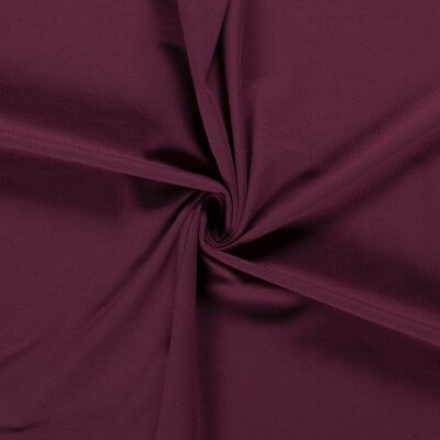 Jerse bumbac uni - Wine Red