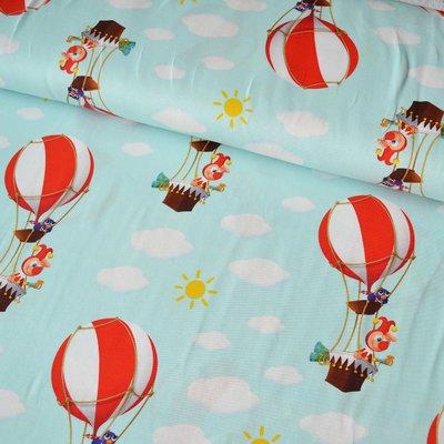 Jerse de bumbac - Funfair Balloons Blue