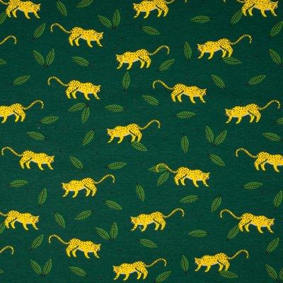 Jerse de bumbac imprimat - Tiger Green