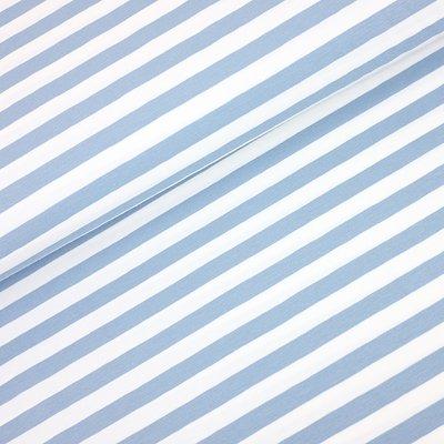 Jerse de bumbac - Yarn Died Stripes Blue