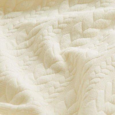 Jerse Jacquard Cable Knit - Ivory
