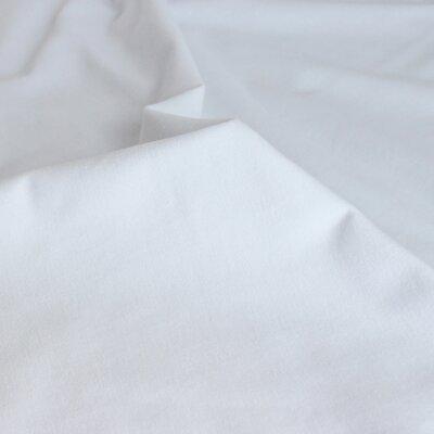 Jerse uni subtire Modal Tencel - White