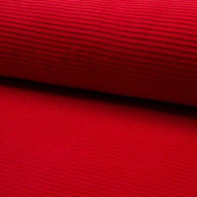 Jerse velur din bumbac - Red
