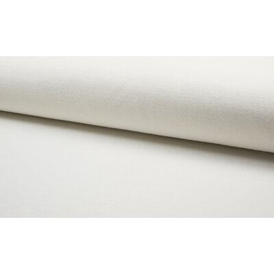 Jersey velur Fine Rib - Ivory
