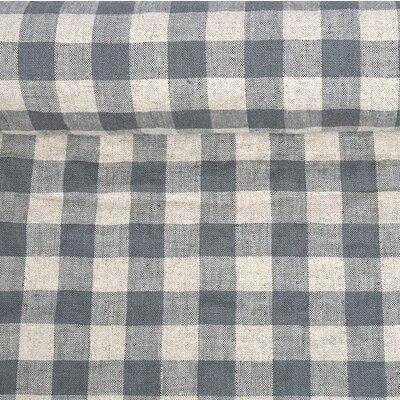 Material 100% In prespalat - Gingham Grey