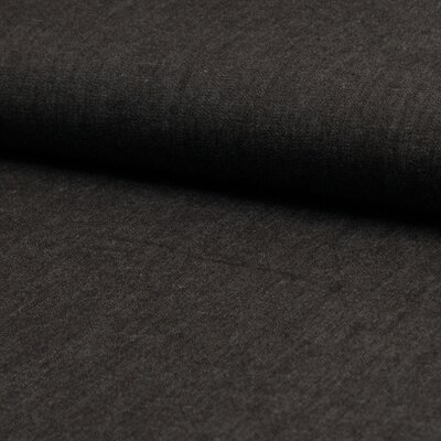 Material bumbac - Chambrai Uni Black
