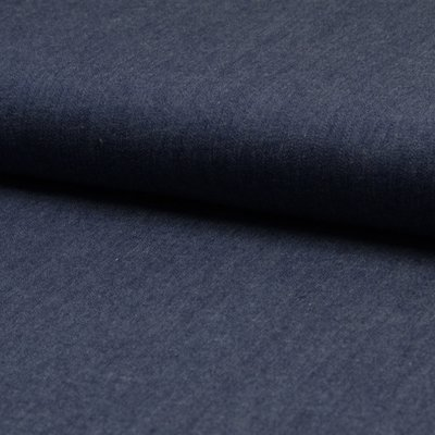 Material bumbac - Chambrai Uni Dark Blue