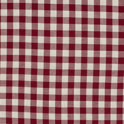 Material bumbac - Gingham Bordo 10mm