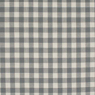 Material bumbac - Gingham Grey