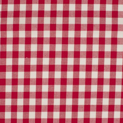 Material bumbac - Gingham Red