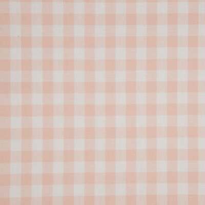 Material bumbac - Gingham Salmon 10mm