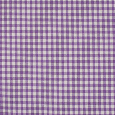 Material bumbac - Small Gingham Lilac