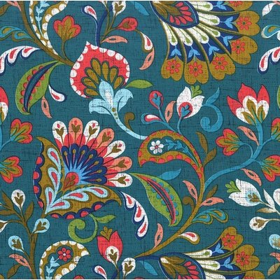 Material designer Michael Miller - Fan Fare Peacock
