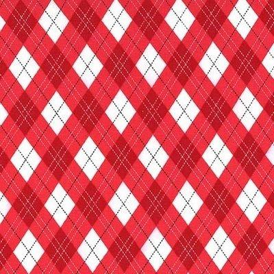 Material designer Michael Miller - Gift Wrap Red