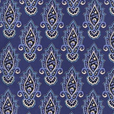 Material designer Michael Miller - Lotus Flower Saphire