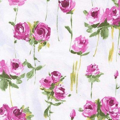 Material designer Michael Miller - Lyrical Rose Magenta