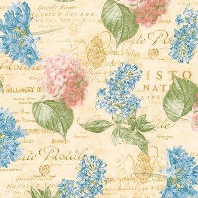 Material designer print - Palais Jardin  Hortensia Antique
