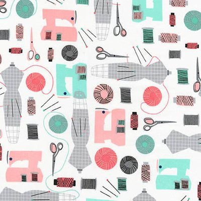 Material designer print - Sew Dressed Up Studio