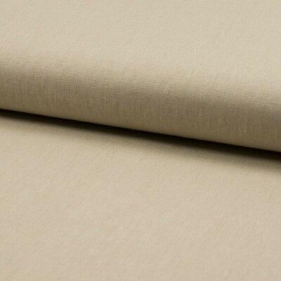 Material din amestec in si bumbac - Beige