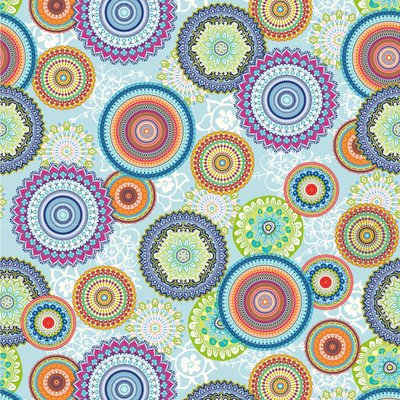Material Home Decor - Mandala Bright