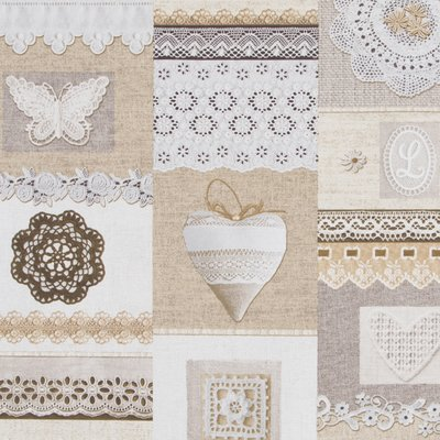 Material Home Decor - Shabby Chic Lace