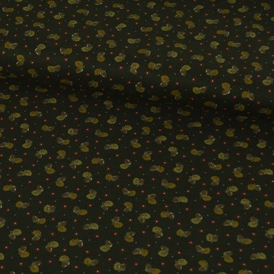 Material textil Lecien Japan - Acorns Brown