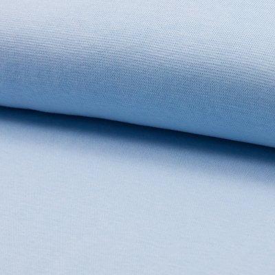 Material tubular Rib pentru mansete - Baby Blue