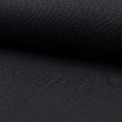 Material tubular Rib pentru mansete - Dark Grey