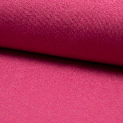 Material tubular Rib pentru mansete - Red Melange
