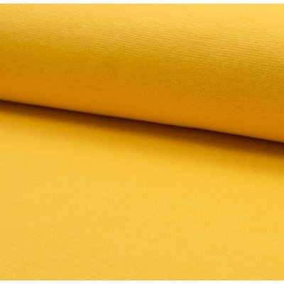 Material tubular Rib pentru mansete - Yellow