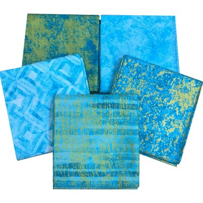 Metallic Elements Turquoise- Set 5 buc x 1m