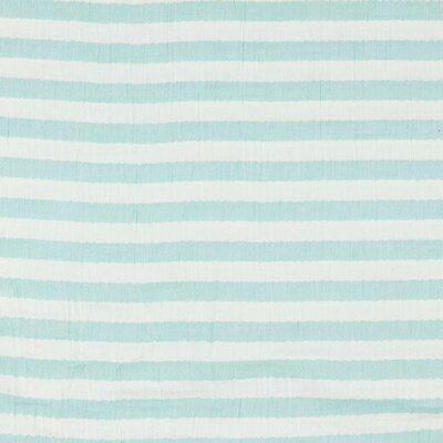 Muselina - Stripes Aqua