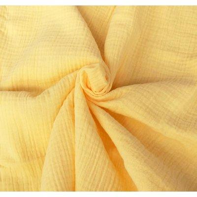 Muselina Organica GOTS - Soft Yellow