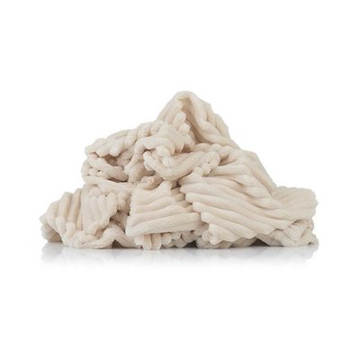 Plush Minky Stripes Premium - Cream