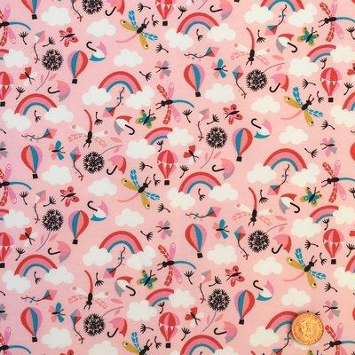 Poplin - Happy Rainbows Candy