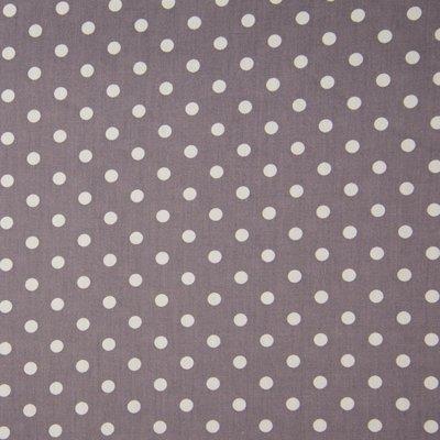Poplin imprimat - Dots Grey