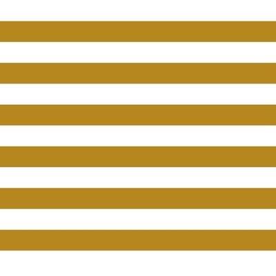 Poplin imprimat - Stripe Ochre