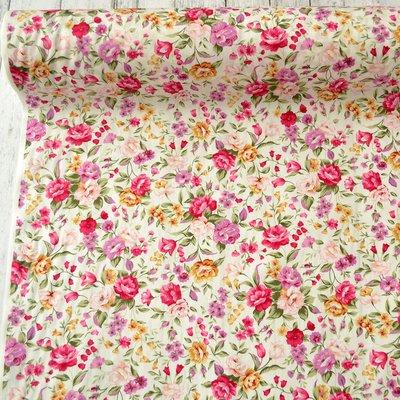 Poplin -  Lush Florals Pink