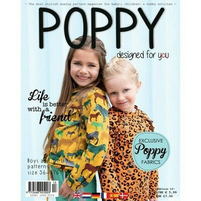 Revista tipare copii - Poppy Magazine nr 13