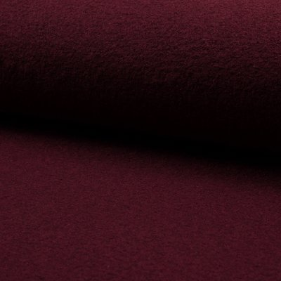 Tesatura din lana fiarta si vascoza - Bordeaux