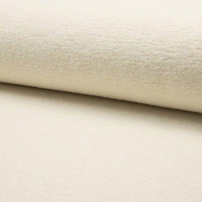 Tesatura din lana fiarta si vascoza - Ivory