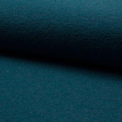 Tesatura din lana fiarta si vascoza - Petrol