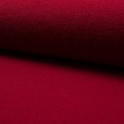 Tesatura din lana fiarta si vascoza - Wine
