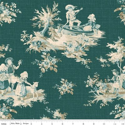 Toile Main Green