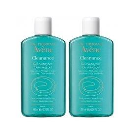 Avene Cleanance Gel de Curatare Ten Acneic 200ml+200ml