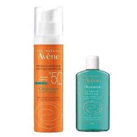 Avene SPF 50 Cleanance Emulsie 50ml + Cleanance Gel 100ml